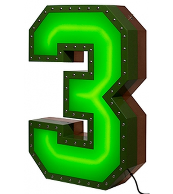 DelightFULL Number 3 Neon Graphic Collection