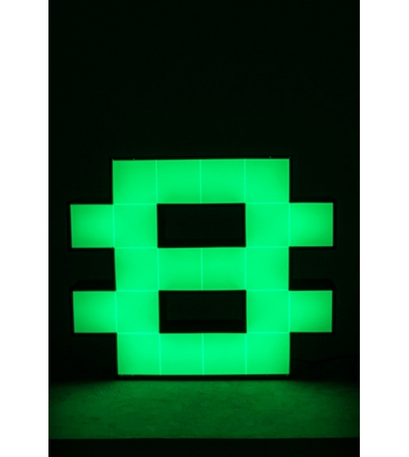 Graphic Collection ‐ Number 8 LED Lamp DelightFULL