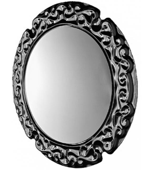 New Baroque Specchio Rotondo Veblén