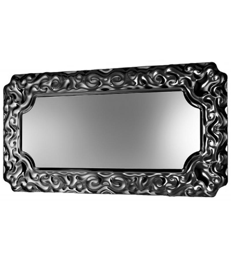 New baroque rectangular mirror vebl n milia shop for Rectangular baroque mirror