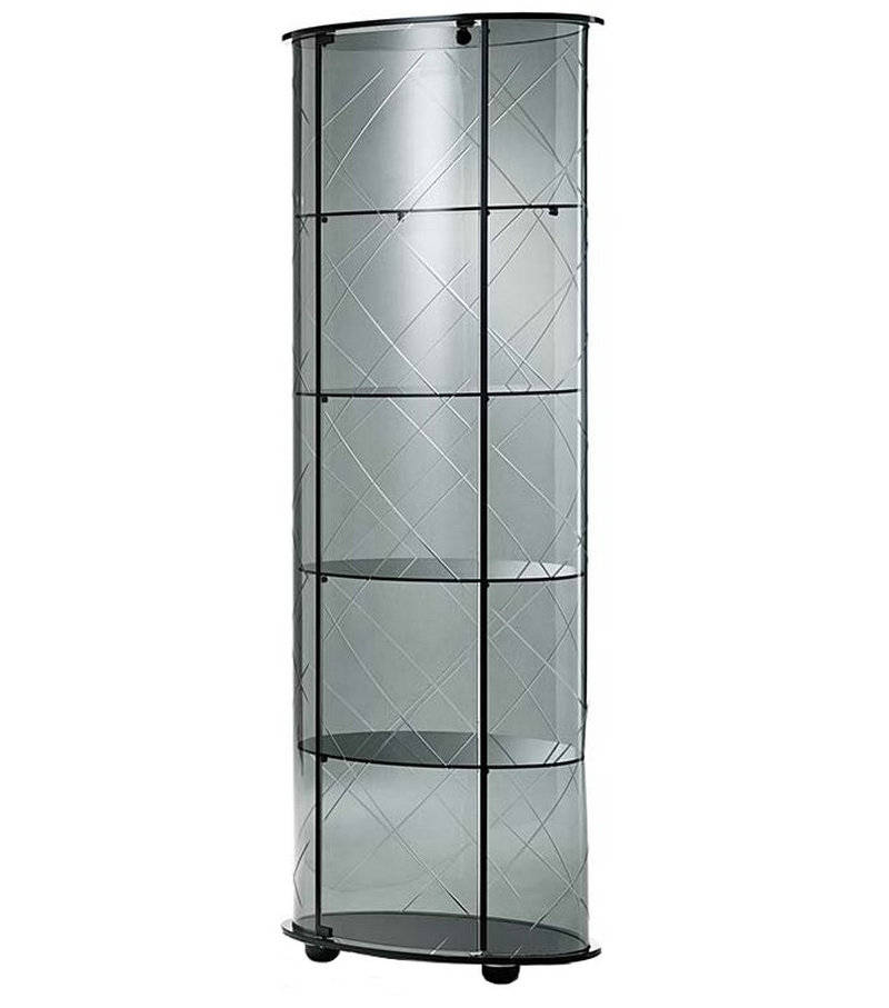 Burberry glass cabinet vebl n milia shop for Meuble mural vitrine