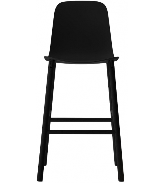Kristalia Sharky Alu Stool High Back
