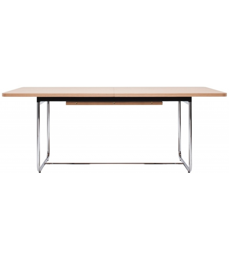 S 1072 thonet extensible table milia shop - Tables relevables extensibles ...
