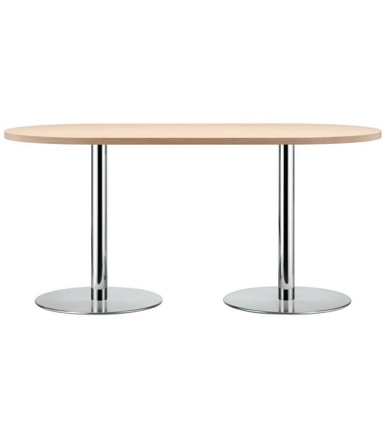 S 1124 Thonet Ovalen Tisch