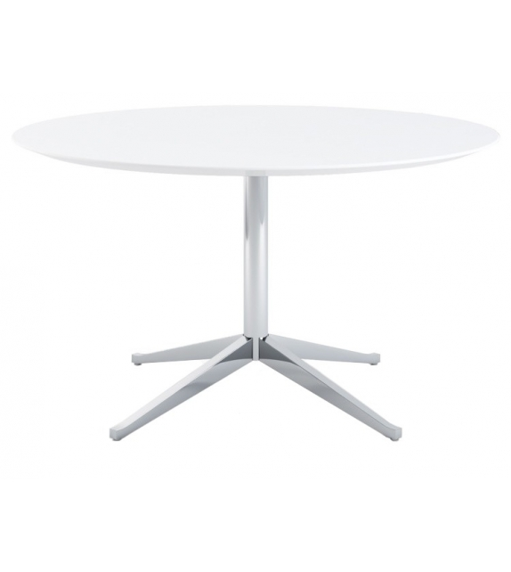 Florence Knoll Statuarietto Round Table Desk