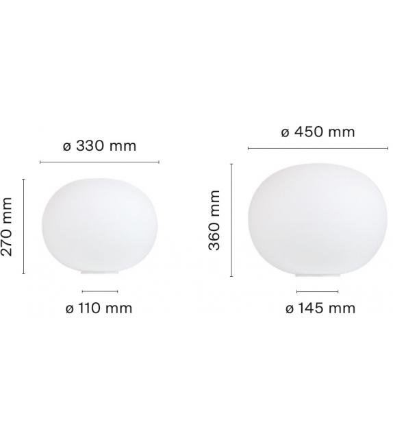 Glo-Ball Basic Lampe de Table Flos
