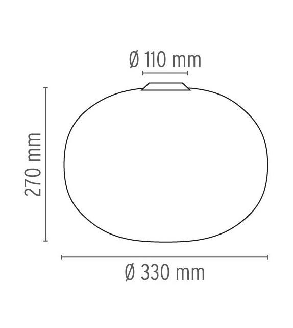 Glo-Ball C1 Plafonnier Flos