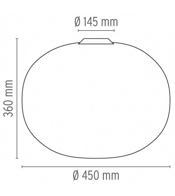 Glo-Ball C2 Lámpara De Techo Flos