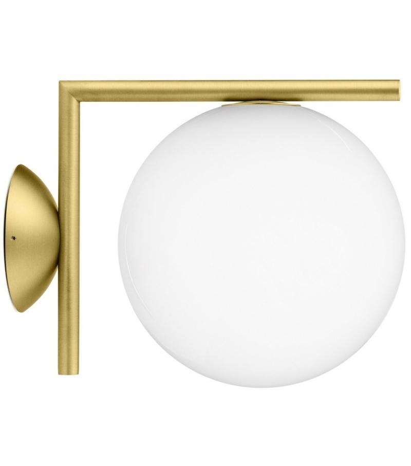 Ic c w1 wall lamp flos milia shop - Appliques de salle de bain ...