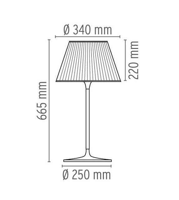 Romeo Moon T1 Lampe De Table Flos