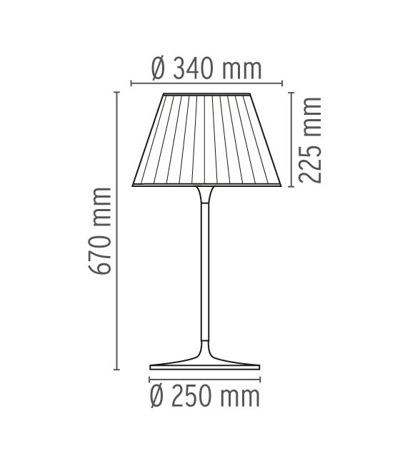 Romeo Soft T1 Table Lamp Flos