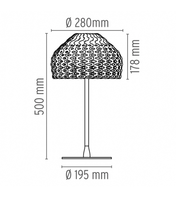 Tatou Table Lamp Flos