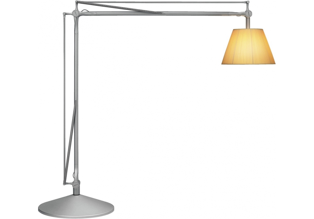 Superarchimoon lampada da terra flos milia shop for Lampada flos da terra