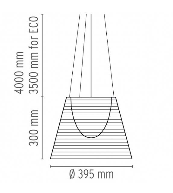 KTribe S2 Lámpara de Suspensión Flos