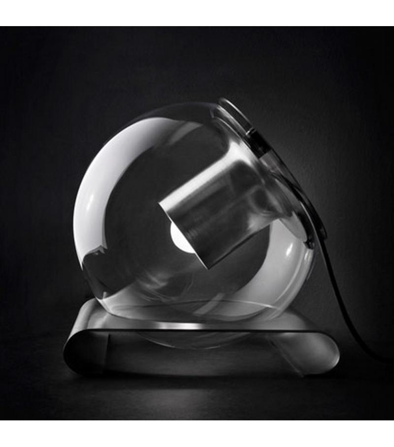 the globe table lamp oluce milia shop. Black Bedroom Furniture Sets. Home Design Ideas