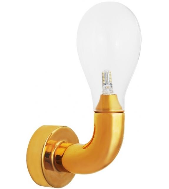 The Single Bulb Lampada Da Parete Scarlet Splendour