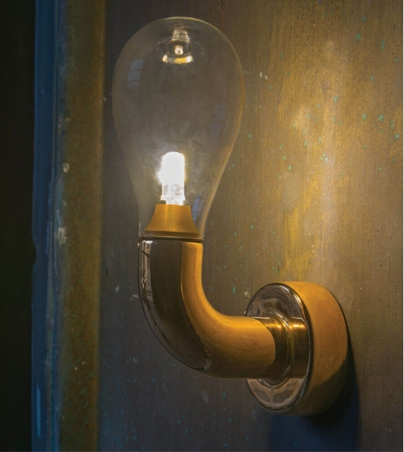 The Single Bulb Wall Light Scarlet Splendour