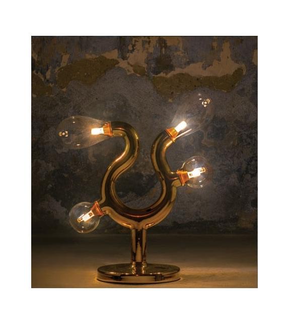 The Four Table Lamp Scarlet Splendour