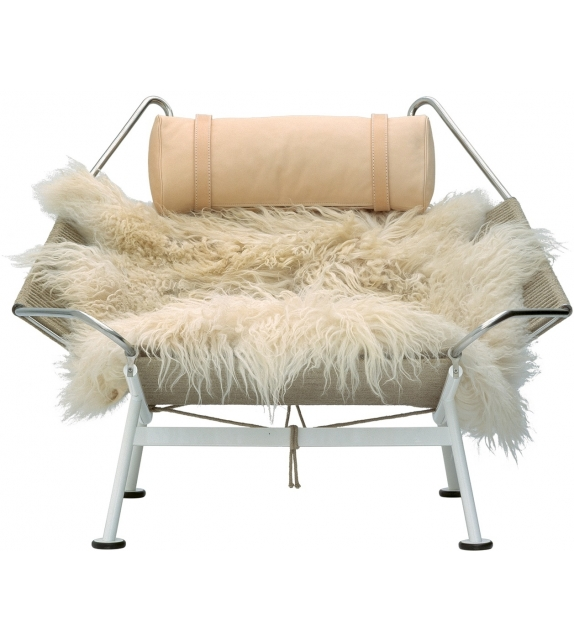 PP Møbler PP225 Flag Halyard Chair Chaise Longue