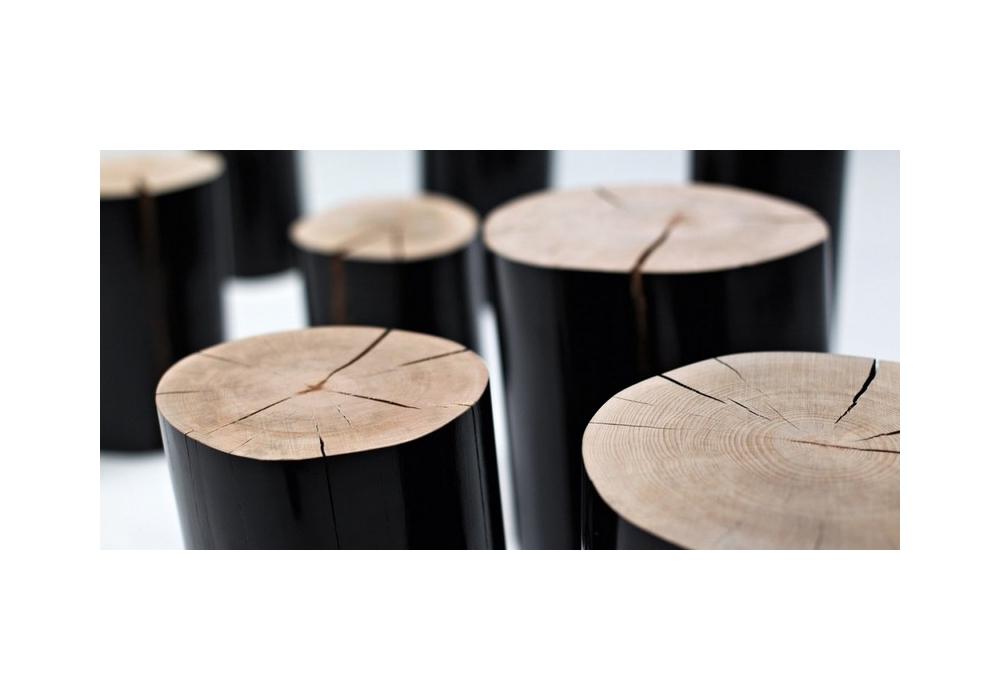 Log Side Table & Pouf Gervasoni - Milia Shop