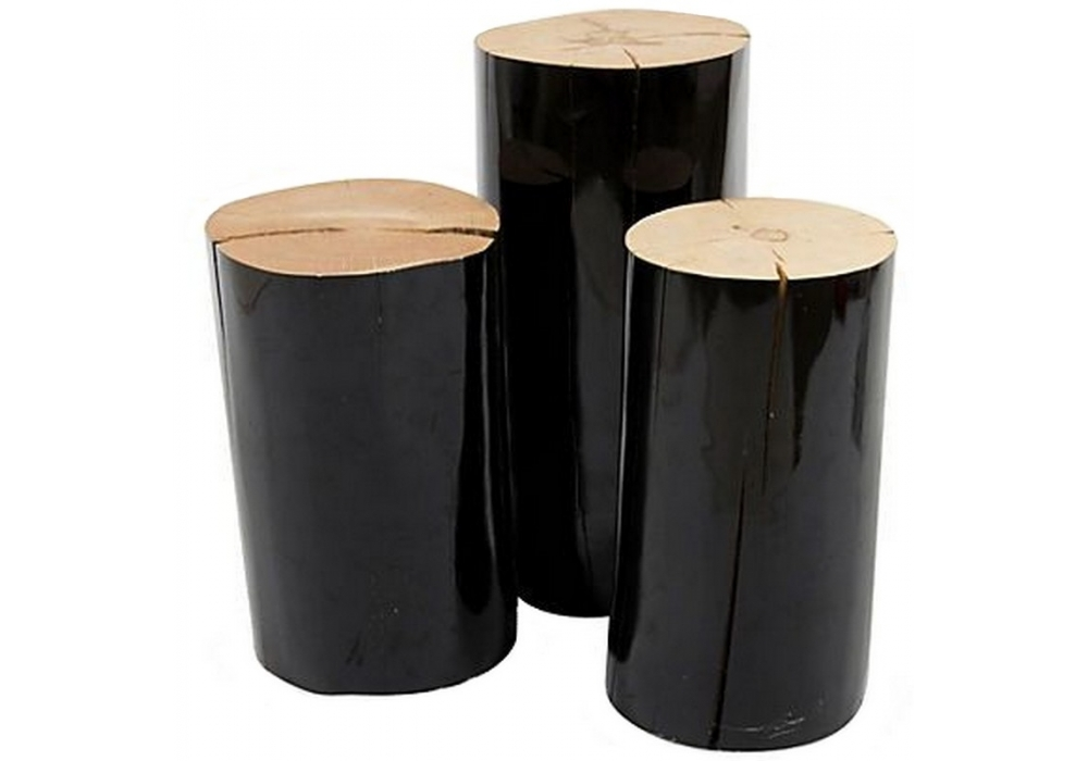 Log Side Table U0026 Pouf Gervasoni
