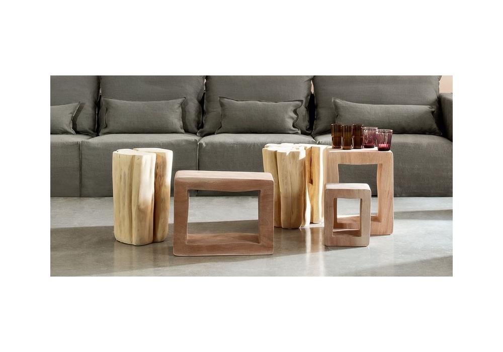 brick coffee table & stool gervasoni - milia shop