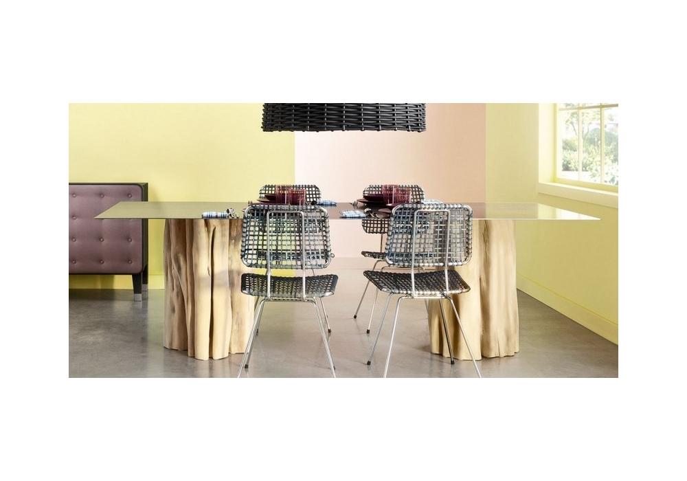 Brick tavolo rettangolare gervasoni milia shop for Gervasoni arredamento