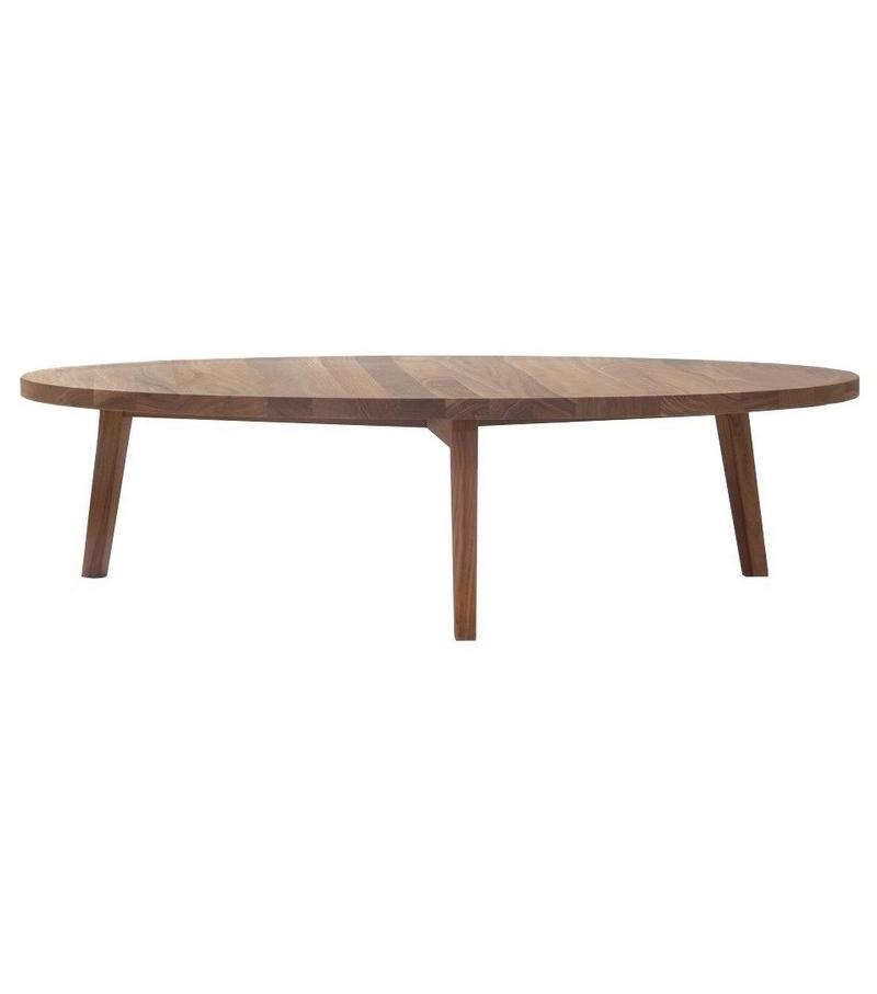 Gray Round Coffee Table Gervasoni Milia Shop