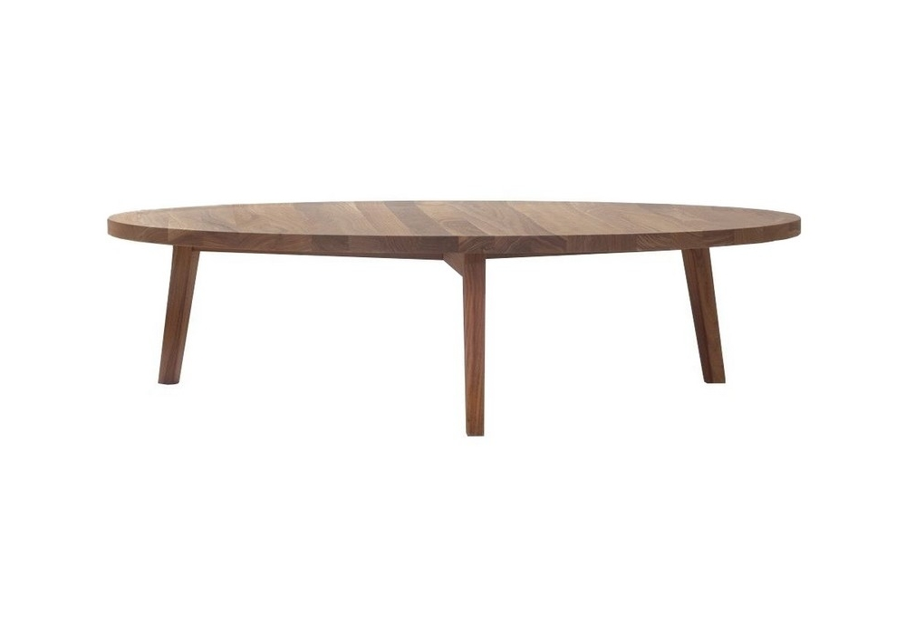 Gray Round Coffee Table Gervasoni Milia Shop