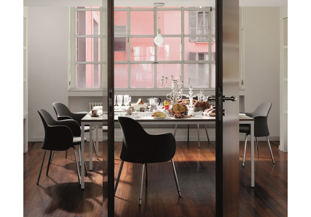 Quadrato tavolo depadova milia shop for Tavolo quadrato