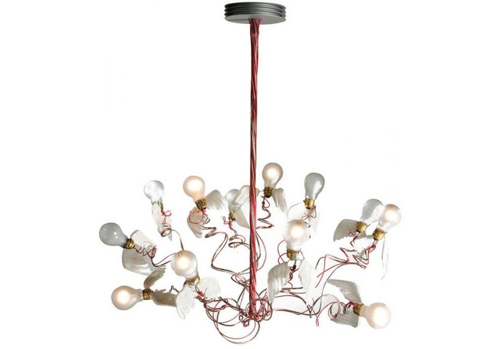 Birdie lampada a sospensione ingo maurer milia shop for Ingo maurer lampadario