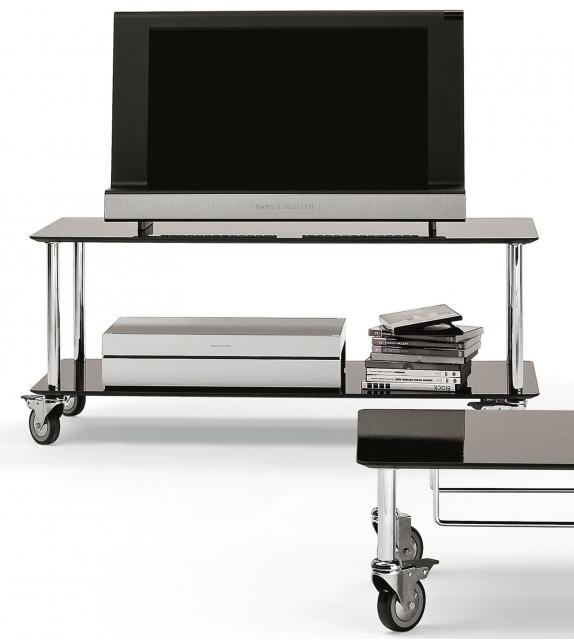 Moby 2 Mueble de TV Con Ruedas DePadova