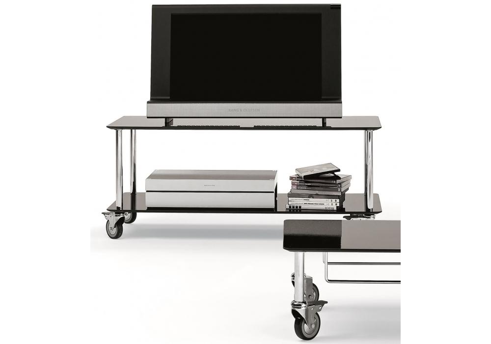 Moby 2 mueble de tv con ruedas depadova milia shop for Muebles para tv con ruedas