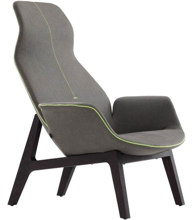 Ventura Lounge Armchair Poliform
