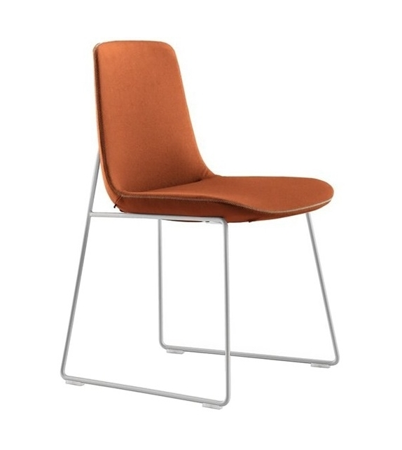 Ventura Chair With Sled Base Poliform
