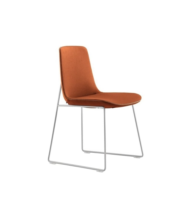 Ventura Stuhl mit Kufengestell Poliform