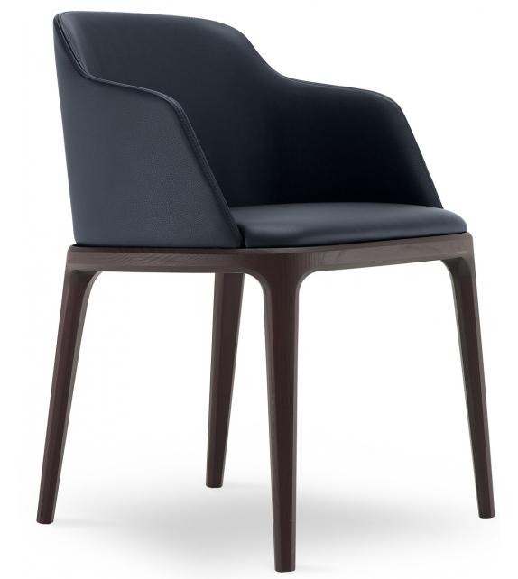 grace chair with armrest poliform milia shop. Black Bedroom Furniture Sets. Home Design Ideas
