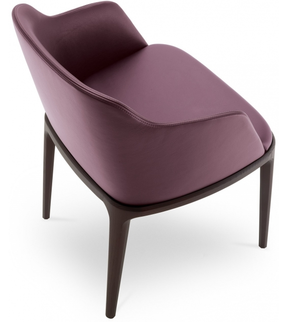 Grace Chair With Armrest Poliform