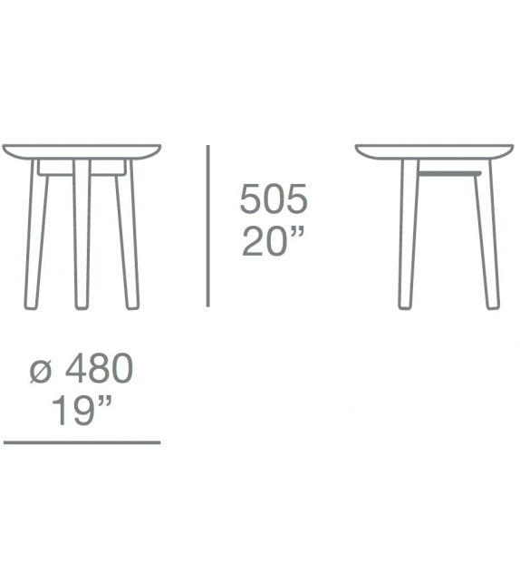 Mad Coffee Table Round Poliform