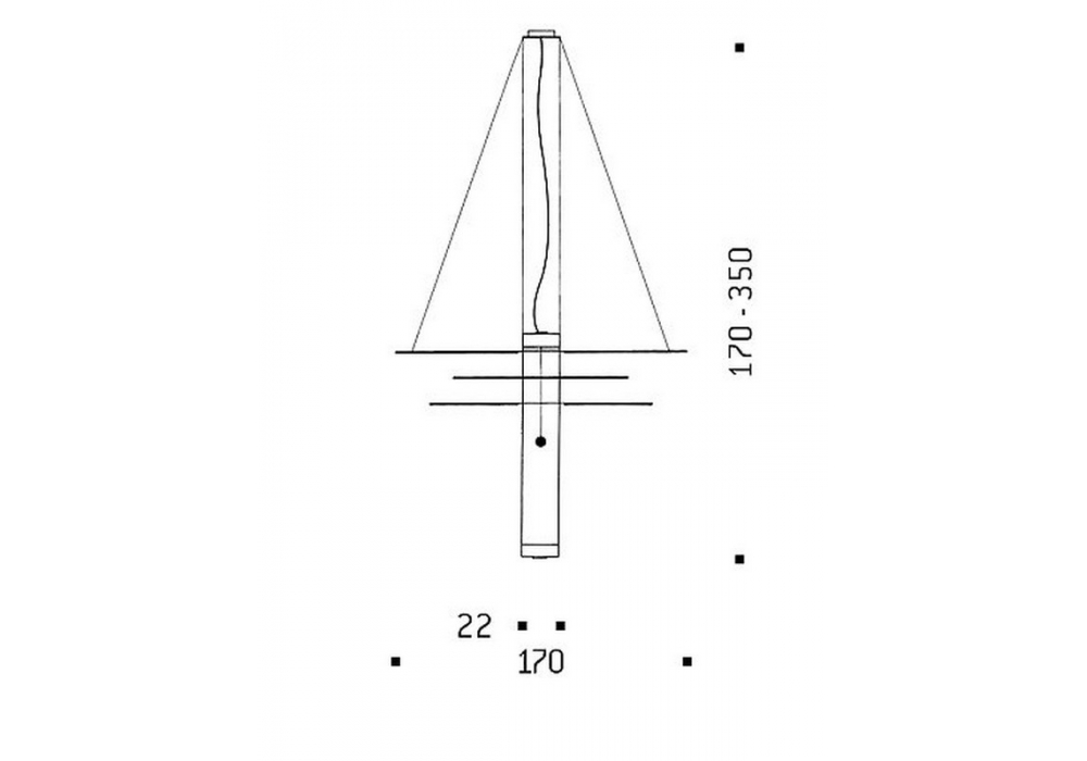 oh mei ma kabir weiss suspension lamp ingo maurer milia shop. Black Bedroom Furniture Sets. Home Design Ideas