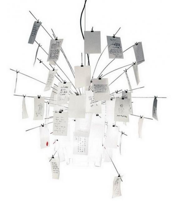 Zettel'z 6 Suspension Lamp Ingo Maurer
