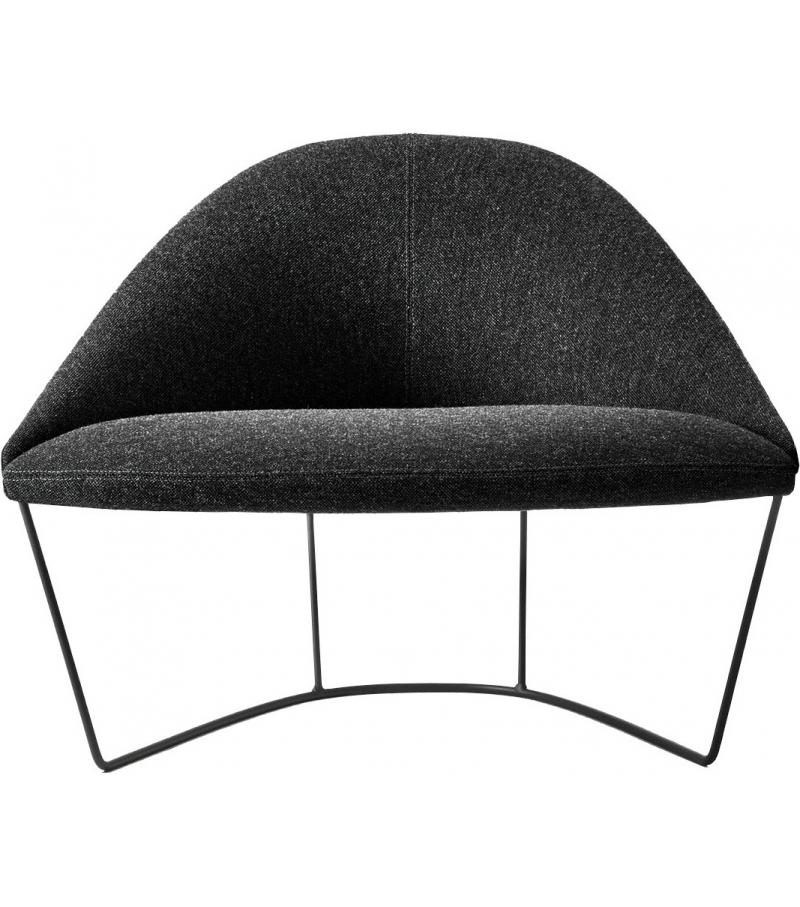 Colina M Arper Armchair With Slade Base Milia Shop