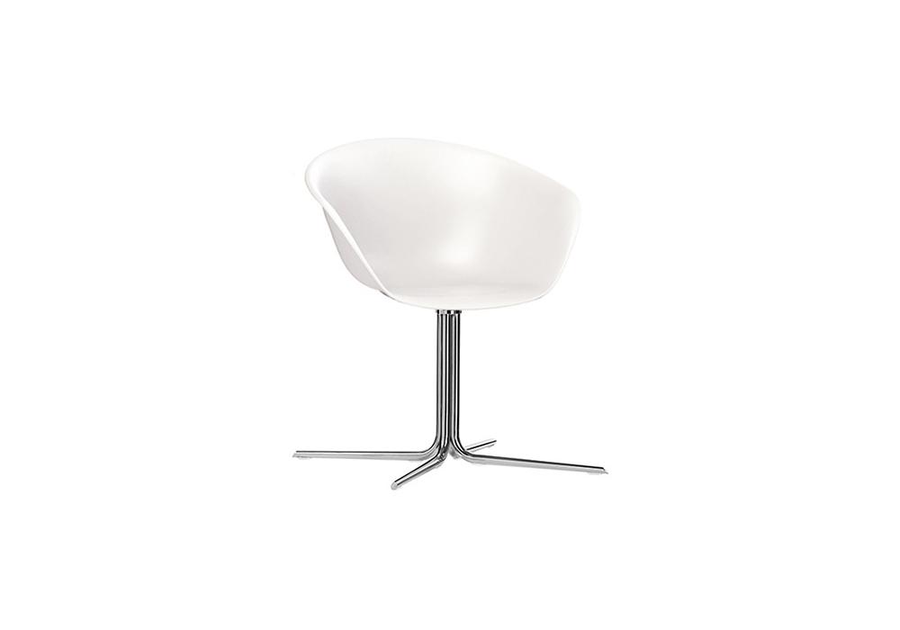 Amazing Duna 02 Arper Armchair With 4 Way Swivel Base Machost Co Dining Chair Design Ideas Machostcouk