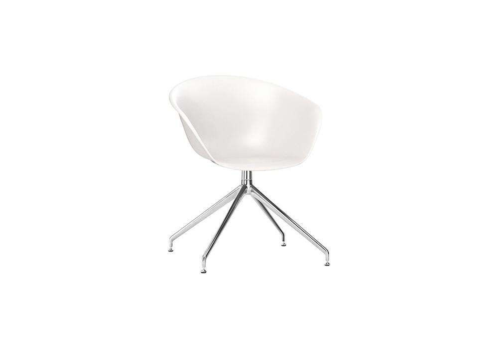 Superb Duna 02 Arper Armchair With Trestle Swivel Base Machost Co Dining Chair Design Ideas Machostcouk