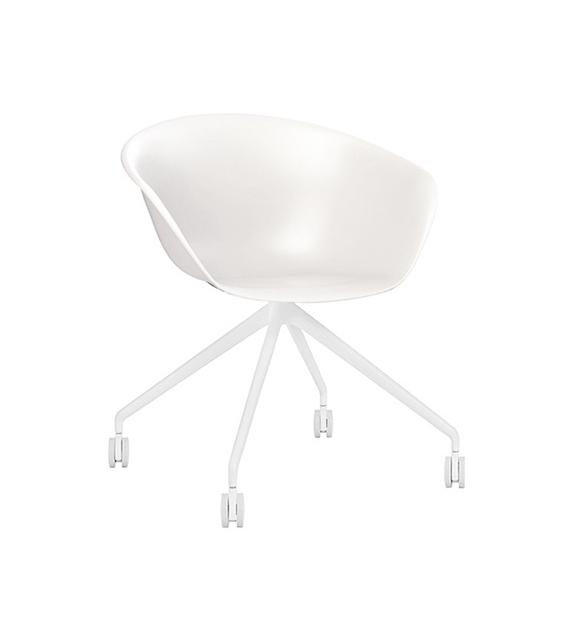 Duna 02 Arper Sessel Auf Fixem Spinnenfuß