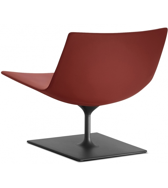 Catifa 80 Arper Lounge With Pedestal Base