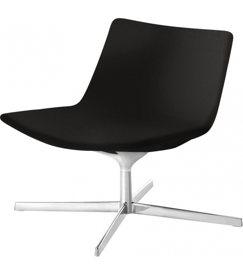 Catifa 60 Lounge Arper Armchair With Low Backrest