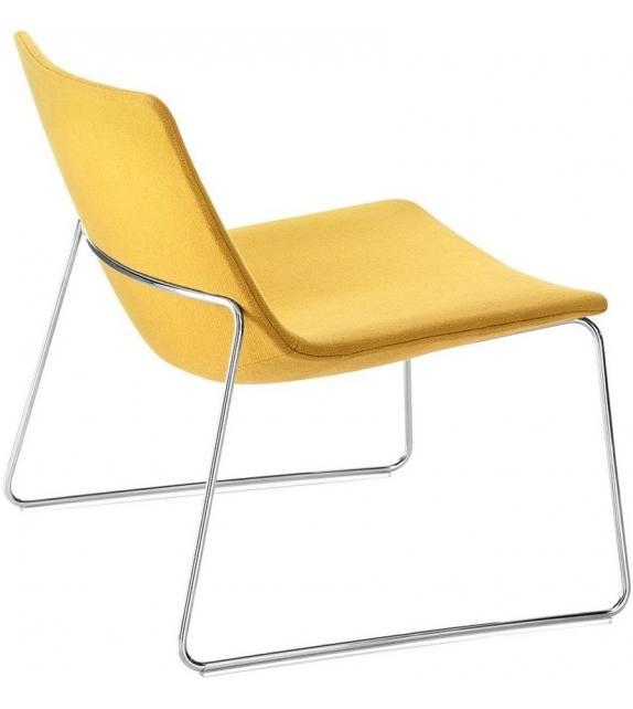 Catifa 60 Lounge Arper Sessel mit Kufengestell