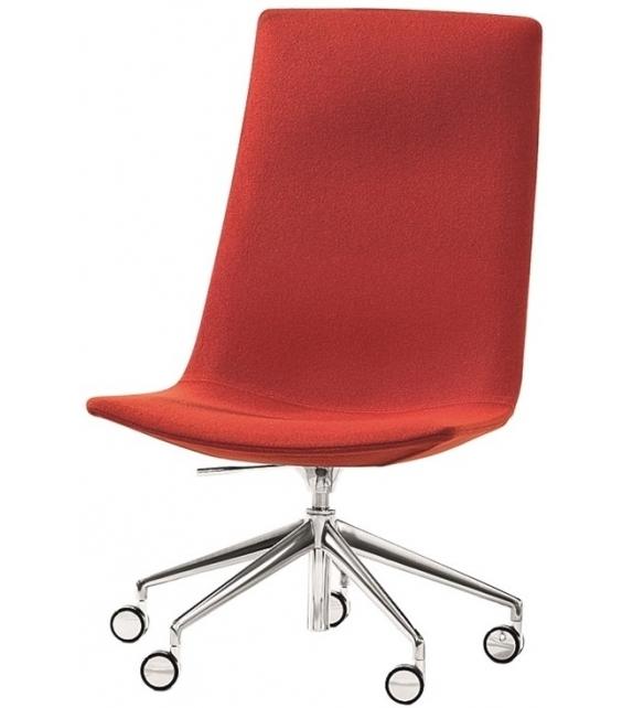 Catifa 60 Office Arper Sessel mit Fünfstrahligem Gestel