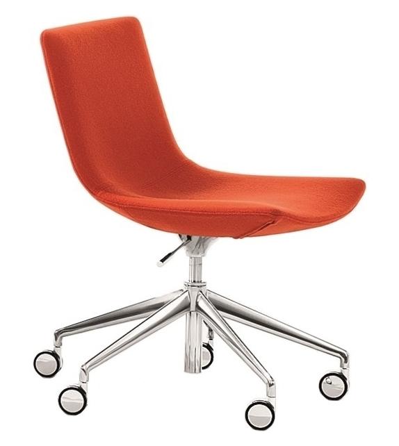 Catifa 60 Conference Arper Sessel mit Fünfstrahligem Gestel